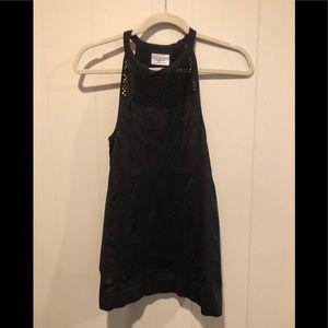 Athleta Tops - Athleta black stretch tank top M